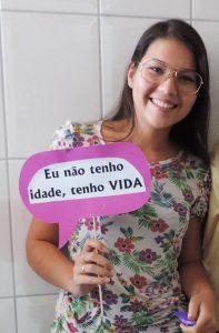 A lindíssima Thalia Coelho, funcionária da Gerência de Comunicação, Piúma, comemorando seu aniversário no último dia 13. Parabéns##