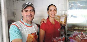 O destaque dessa coluna vai para Robson e Graciele da Padaria 2000, de Iconha. Grande abraço.