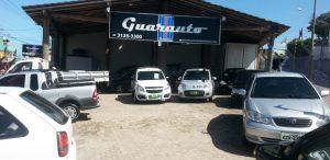 Venda de veículos é com a Guarauto Veículos. Faça uma visita: Rua Domingos Martins, bairro Ipiranga, em Guarapari. Tel.: (27) 3125 3300; Dayan (28) 9 9907-6194 ou Ronaldo (27) 9 9904-5936.